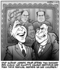 Kirk Anderson  Kirk Anderson's Editorial Cartoons 2004-03-10 Supreme Court
