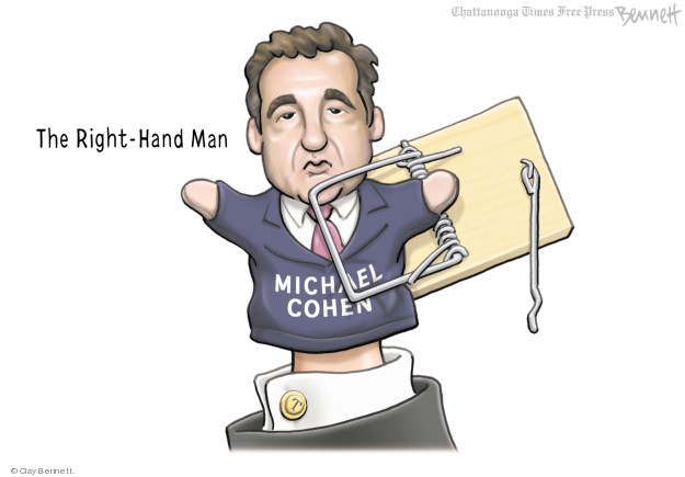 The Right-Hand Man. Michael Cohen.
