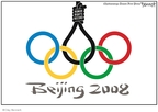 Clay Bennett  Clay Bennett's Editorial Cartoons 2008-03-26 China
