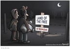 Clay Bennett  Clay Bennett's Editorial Cartoons 2008-04-17 illegal immigration