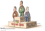Clay Bennett  Clay Bennett's Editorial Cartoons 2008-08-09 China