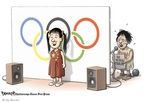 Clay Bennett  Clay Bennett's Editorial Cartoons 2008-08-13 China