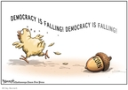 Clay Bennett  Clay Bennett's Editorial Cartoons 2008-10-18 democracy