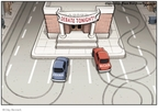 Clay Bennett  Clay Bennett's Editorial Cartoons 2008-10-21 2008 debate