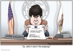 Clay Bennett  Clay Bennett's Editorial Cartoons 2008-12-13 charge