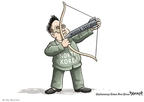 Clay Bennett  Clay Bennett's Editorial Cartoons 2009-04-07 North Korea