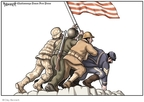 Clay Bennett  Clay Bennett's Editorial Cartoons 2009-05-25 World War II Memorial
