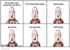 Clay Bennett  Clay Bennett's Editorial Cartoons 2009-06-11 hate