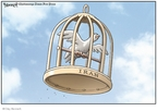 Clay Bennett  Clay Bennett's Editorial Cartoons 2009-06-19 democracy