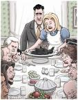 Clay Bennett  Clay Bennett's Editorial Cartoons 2012-11-21 Ann Romney