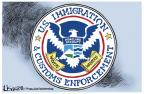 Lisa Benson  Lisa Benson's Editorial Cartoons 2011-06-28 Immigration Customs Enforcement