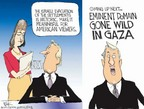 Chip Bok  Chip Bok's Editorial Cartoons 2005-08-18 Gaza