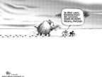 Chip Bok  Chip Bok's Editorial Cartoons 2005-12-19 climate change