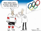Chip Bok  Chip Bok's Editorial Cartoons 2006-02-13 2006 Olympics
