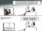 Chip Bok  Chip Bok's Editorial Cartoons 2006-04-12 Antonin Scalia