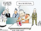 Chip Bok  Chip Bok's Editorial Cartoons 2006-06-21 capital punishment