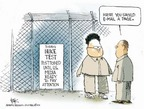 Chip Bok  Chip Bok's Editorial Cartoons 2006-10-09 Kim Il-Sung