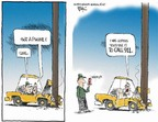 Chip Bok  Chip Bok's Editorial Cartoons 2007-04-20 automobile accident