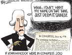 Chip Bok  Chip Bok's Editorial Cartoons 2010-03-17 Declaration of Independence