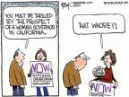 Chip Bok  Chip Bok's Editorial Cartoons 2010-10-15 rights of women
