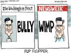 Chip Bok  Chip Bok's Editorial Cartoons 2012-08-01 Mitt Romney