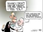 Chip Bok  Chip Bok's Editorial Cartoons 2012-08-02 Mitt Romney