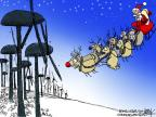 Chip Bok  Chip Bok's Editorial Cartoons 2013-12-18 energy source