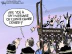 Chip Bok  Chip Bok's Editorial Cartoons 2014-04-14 climate change denial