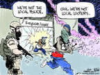 Chip Bok  Chip Bok's Editorial Cartoons 2014-08-21 conflict