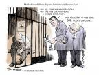 Jeff Danziger  Jeff Danziger's Editorial Cartoons 2011-01-01 Dmitry Medvedev