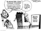 John Deering  John Deering's Editorial Cartoons 2009-08-11 distraction