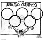 John Deering  John Deering's Editorial Cartoons 2008-03-26 China