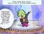 Gustavo Rodriguez  Garrincha's Editorial Cartoons 2013-11-13 China