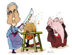 Gustavo Rodriguez  Garrincha's Editorial Cartoons 2018-05-03 Robert Mueller