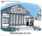 Lee Judge  Lee Judge's Editorial Cartoons 2010-01-30 Supreme Court