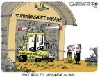 Lee Judge  Lee Judge's Editorial Cartoons 2012-02-23 Supreme Court