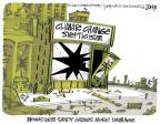Lee Judge  Lee Judge's Editorial Cartoons 2012-11-03 climate change skepticism