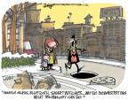 Lee Judge  Lee Judge's Editorial Cartoons 2014-01-12 distraction