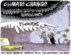 Lee Judge  Lee Judge's Editorial Cartoons 2017-09-10 climate change