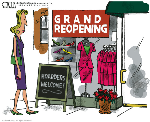 Grand Reopening. Hoarders welcome!