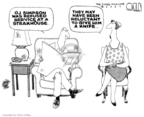 Steve Kelley  Steve Kelley's Editorial Cartoons 2007-05-10 cutting