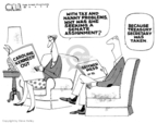 Steve Kelley  Steve Kelley's Editorial Cartoons 2009-01-23 fraud