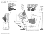 Steve Kelley  Steve Kelley's Editorial Cartoons 2009-03-04 aye