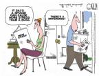 Steve Kelley  Steve Kelley's Editorial Cartoons 2010-07-02 relationship