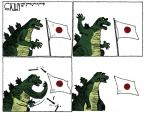 Steve Kelley  Steve Kelley's Editorial Cartoons 2011-03-15 Japanese tsunami