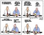 Steve Kelley  Steve Kelley's Editorial Cartoons 2011-07-13 democracy