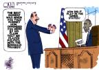 Steve Kelley  Steve Kelley's Editorial Cartoons 2012-10-18 Mitt Romney