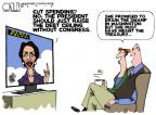 Steve Kelley  Steve Kelley's Editorial Cartoons 2013-01-10 cutting