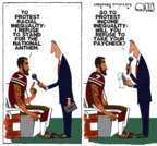 Steve Kelley  Steve Kelley's Editorial Cartoons 2016-08-29 freedom of speech