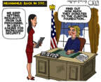 Steve Kelley  Steve Kelley's Editorial Cartoons 2016-10-27 state election